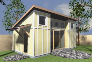 The Right Cottage Rendering
